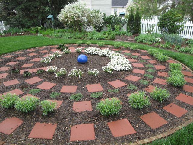 Meditation Garden On Rainy Spring Morning March 24, 2012
