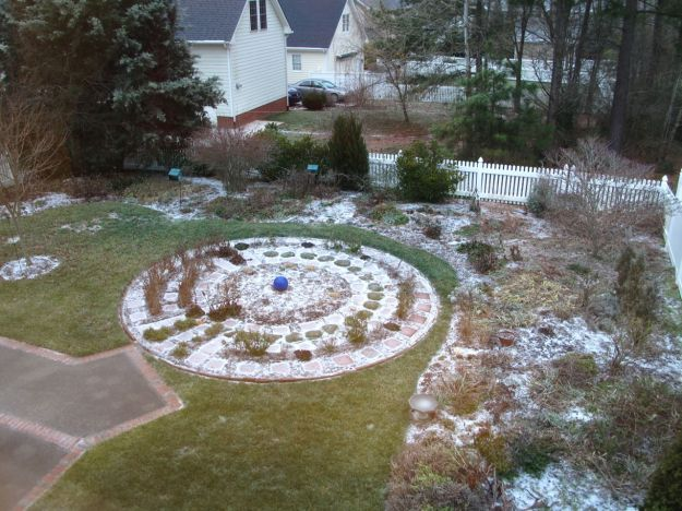 Frozen Meditation Circle