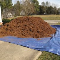 Hardwood Mulch Delivery Feb 4 2013
