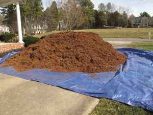 Hardwood Mulch Delivery-14 cubic yards of work