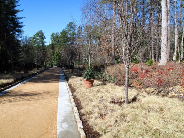 Perennial Allée, Duke Gardens