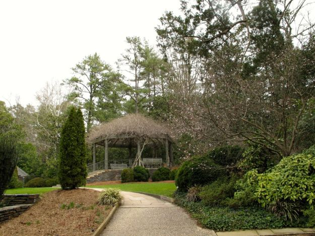 Wisteria-covered Pergola-Duke Gardens