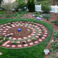 Garden View With Fresh Mulch-3