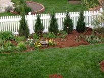 Garden View With Fresh Mulch-5