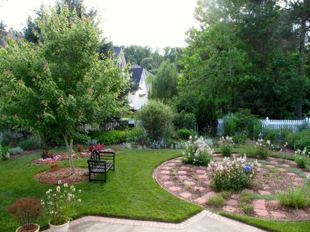 Garden View-Looking Toward Southwest Corner