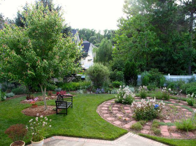 Garden View-Looking Toward Southwest Corner