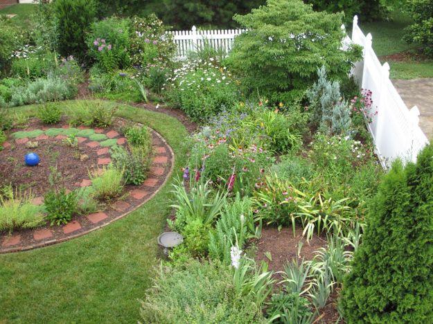 Early Morning Garden After Rain4
