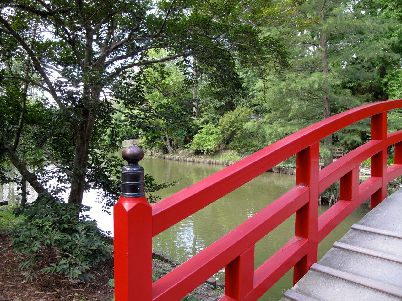 Morning at duke gardens pbmgarden for Japanese style bridge