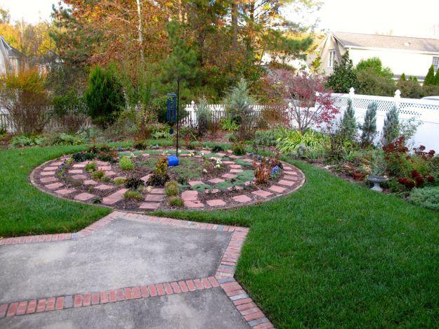 Meditation Circle Early Morning View