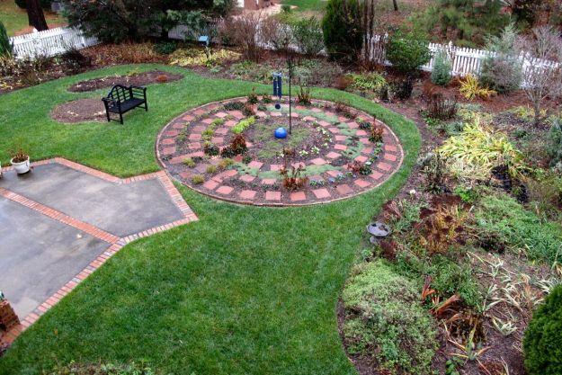 Rainy Day November View