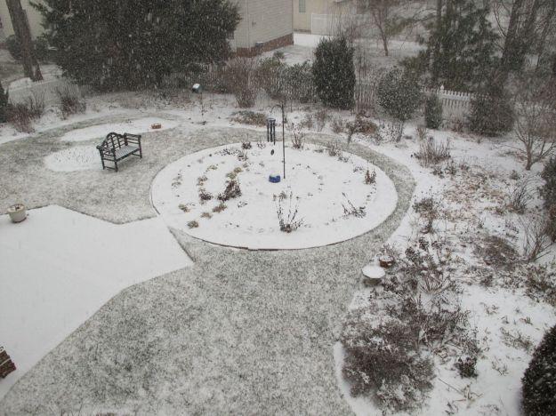 Snow at 1:27pm