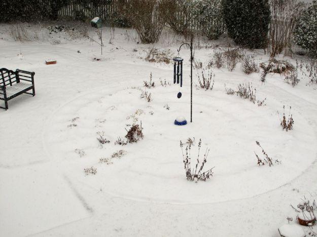 Snow at 2:36 pm