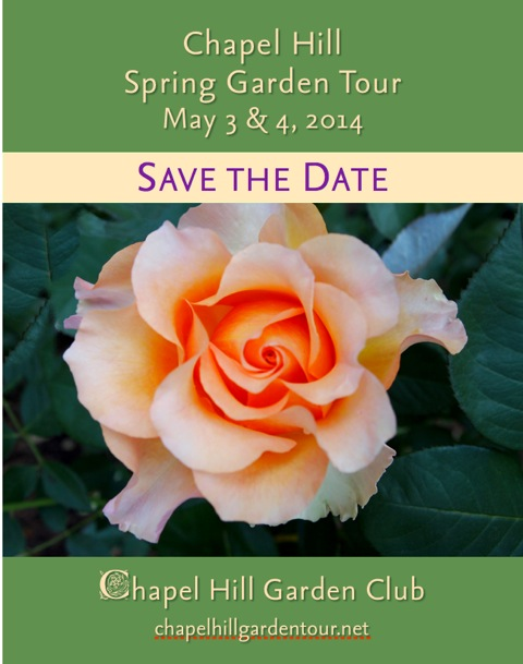 Chapel Hill Spring Garden Tour, May 3-4, 2014