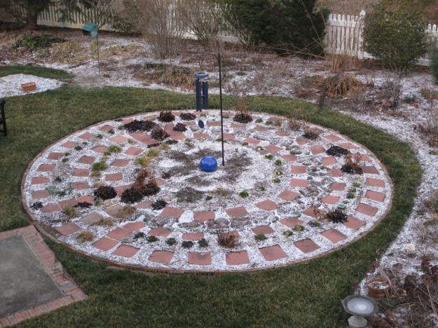Garden Under Ice-Meditation Circle