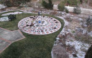 Garden Under Ice - March 4, 2014