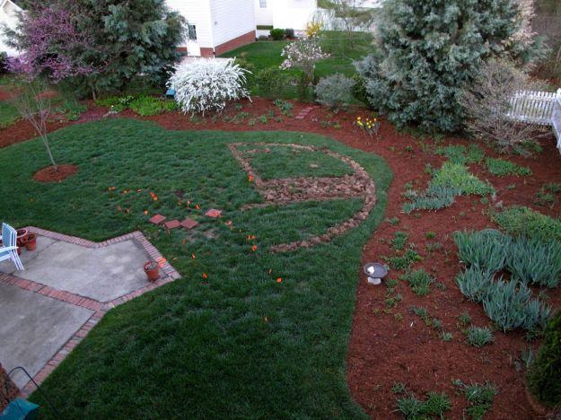 2011.  Meditation Garden Circle-March 24, 2011