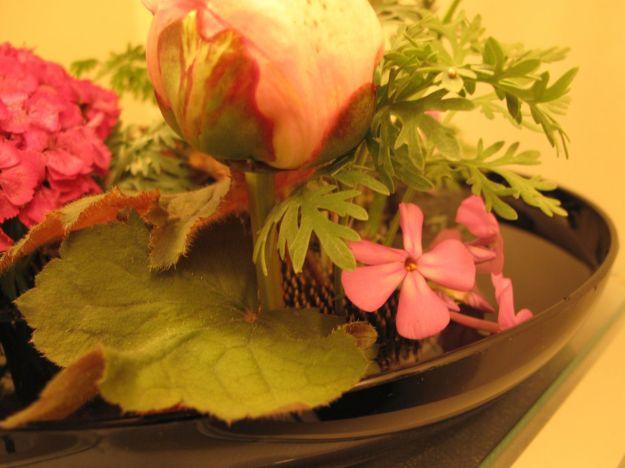Filler flowers and concealer leaves
