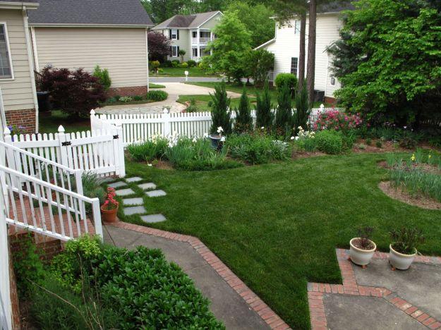 Garden View Toward Southern Border