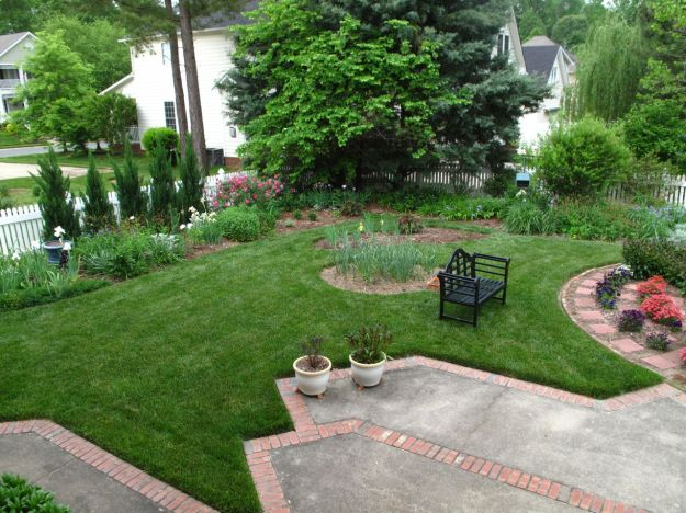 Garden View Toward Southwest Corner