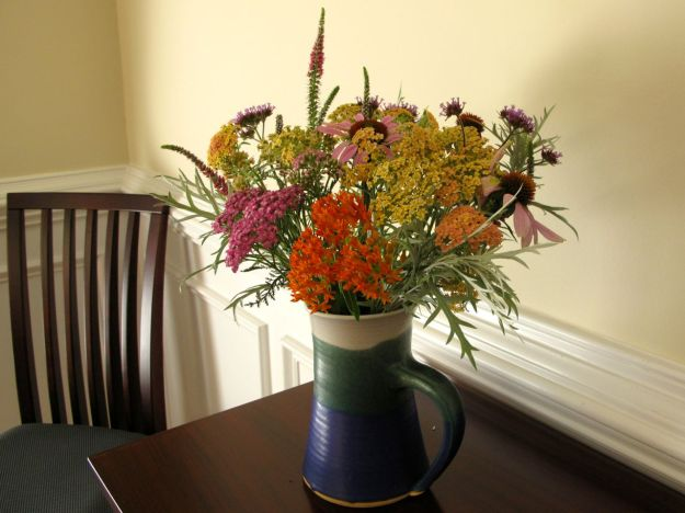 Cottage Bouquet in Pringle Pitcher