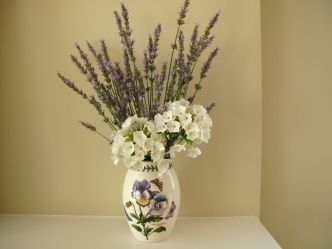 Lavender And White -June 23, 2014