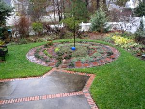 Rainy Meditation Circle