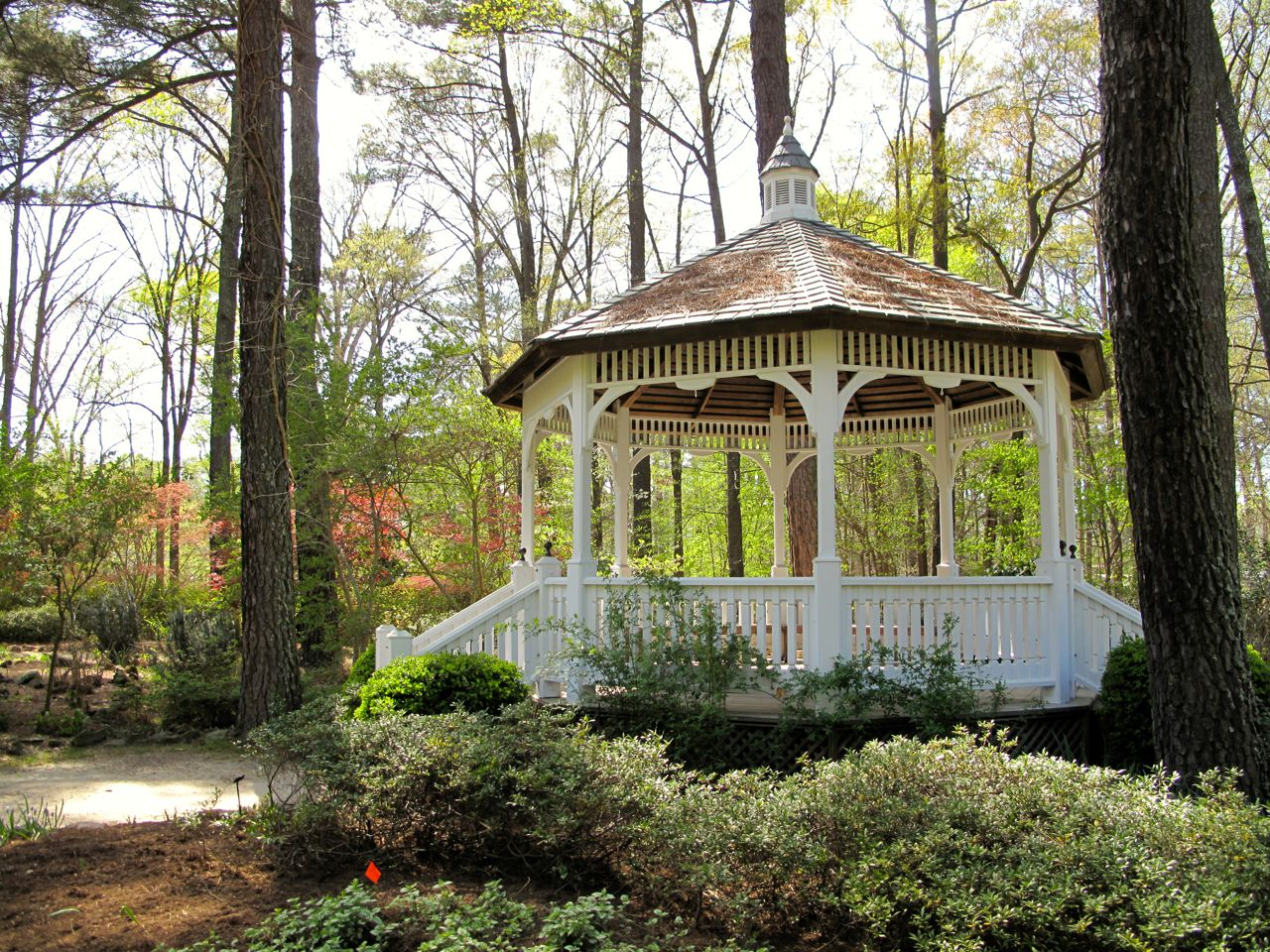 Butler Gazebo   Cape Fear Botanical Garden