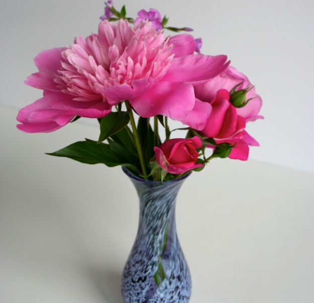 Peony, Phlox and Roses
