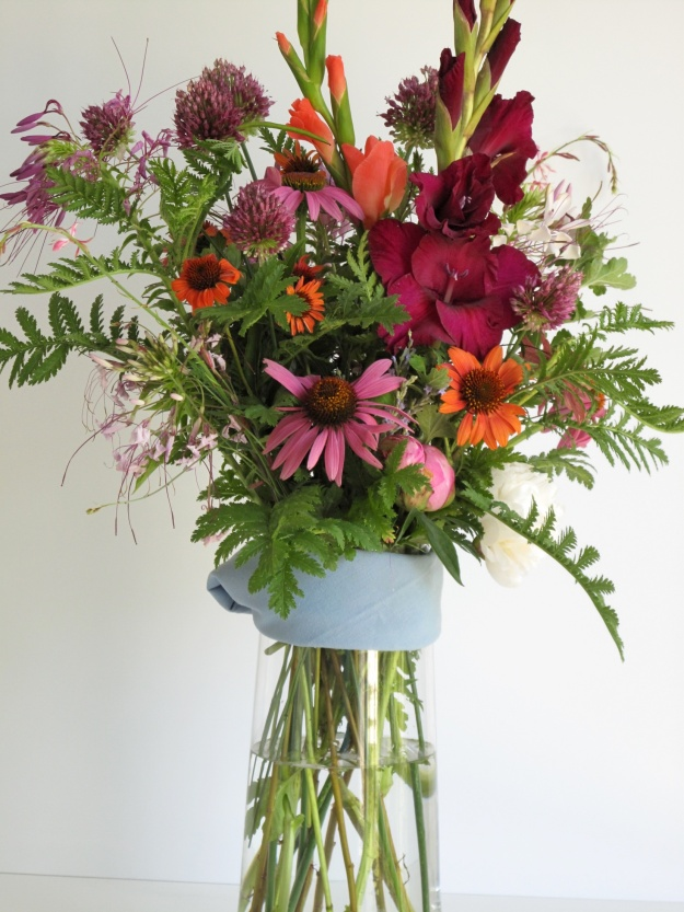 In A Vase On Monday—Tall Summer Color