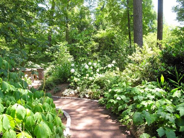 White Garden, Sarah P. Duke Gardens