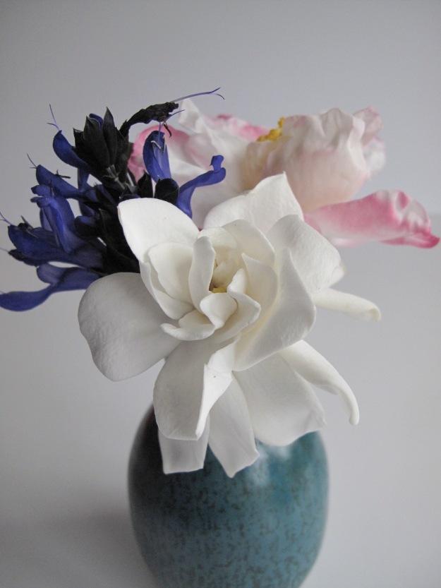 Gardenia, Camellia and Salvia