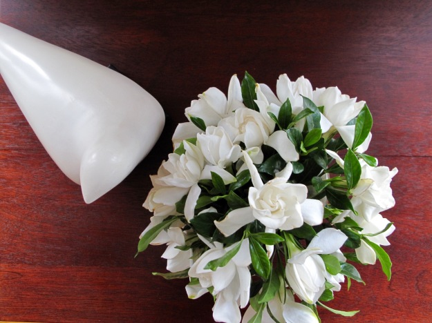 In A Vase On Monday - Gardenias