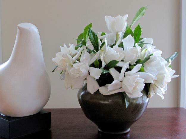 In A Vase On Monday - Gardenias