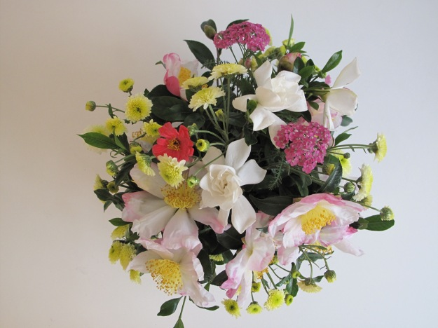 In A Vase On Monday - View From Above