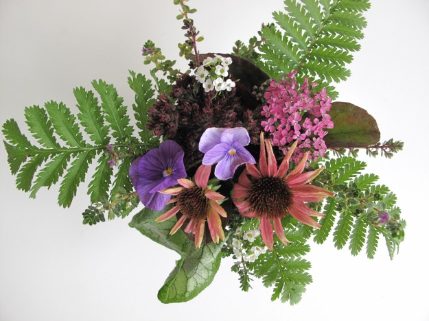 In A Vase On Monday - Overhead view