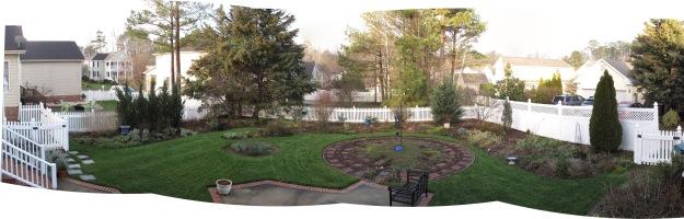 Garden Panorama 2016-01-16