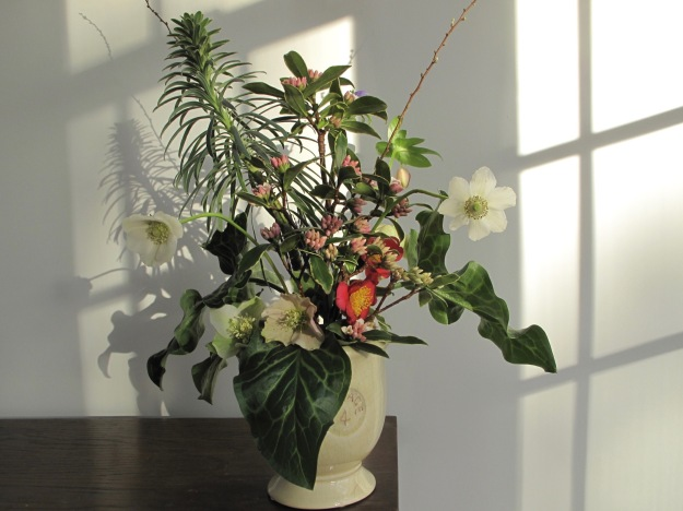 In A Vase On Monday--Winter Green