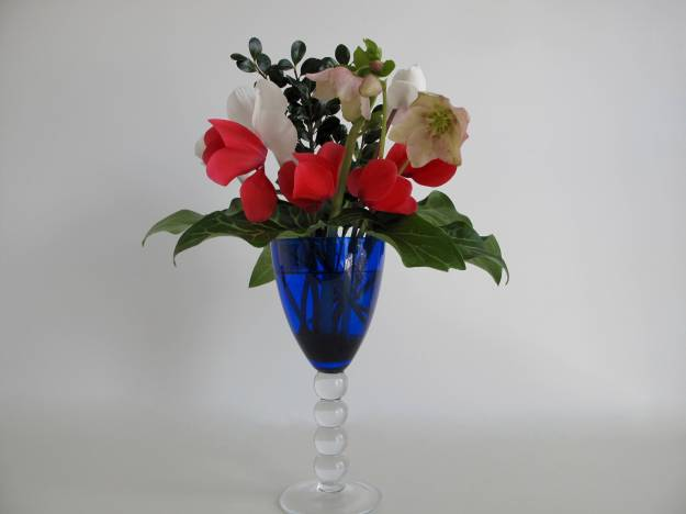 In A Vase On Monday - February In Royal Blue