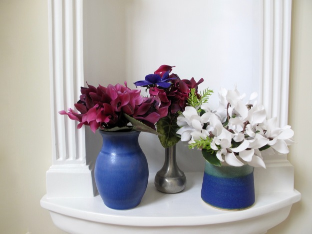 In A Vase On Monday - Anemone And Cyclamen
