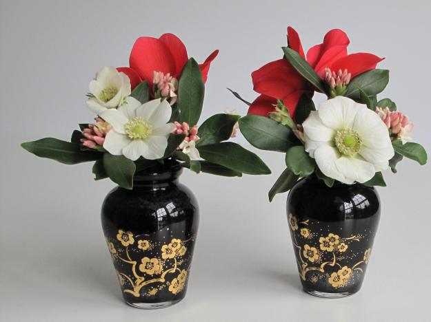 In A Vase On Monday - Wintertide Pair