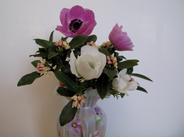 In A Vase On Monday - Pink And White