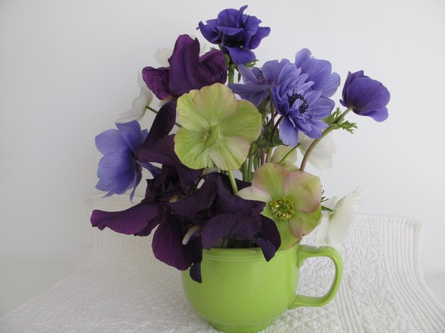 In A Vase On Monday—Violet To Green