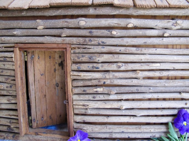Thursday Doors - Log Cabin