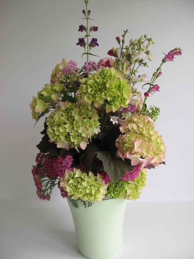 In A Vase On Monday - Hydrangeas