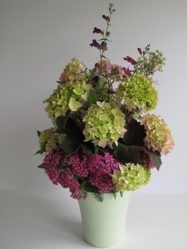 In A Vase On Monday - Hydrangeas