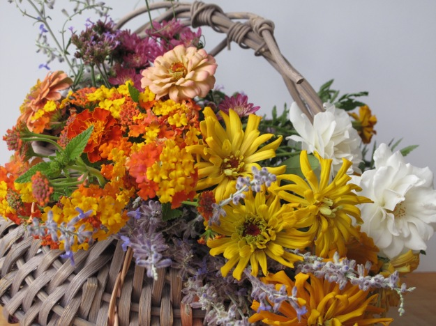 In A Vase On Monday - In A Basket