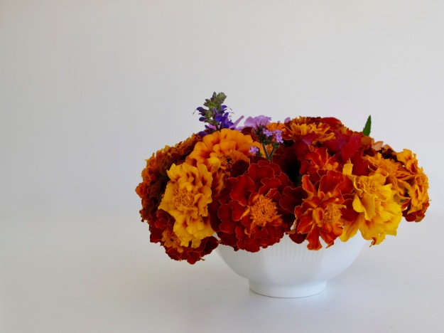 In A Vase On Monday - Red Rust And Gold