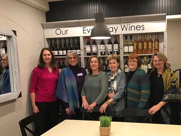 Fearrington Garden Club Meeting. Susie, Sarah, Anna, Libby, Debbie, Marian