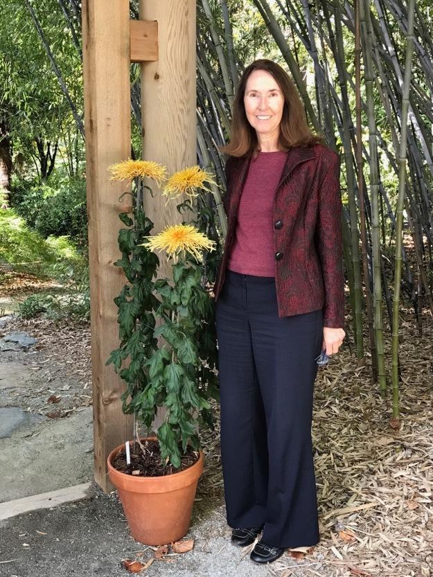 Susie At Duke Gardens