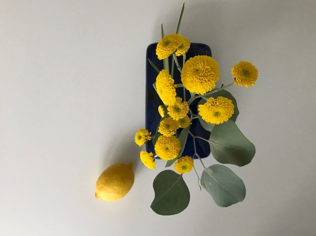 In A Vase On Monday - Eucalyptus and Yellow